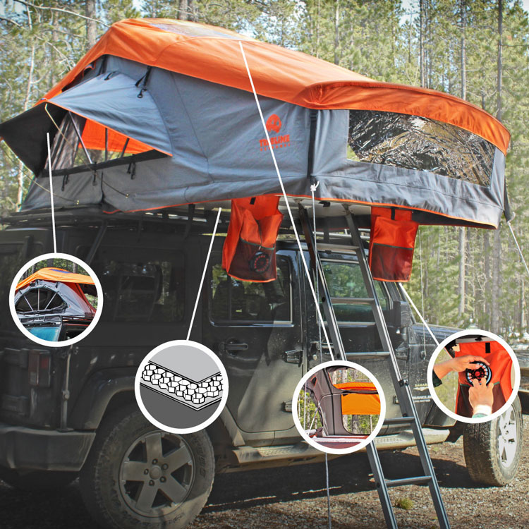 Treeline Outdoors Roof-Top Tents & Treeline Outdoors Roof-Top Tents | Gearminded