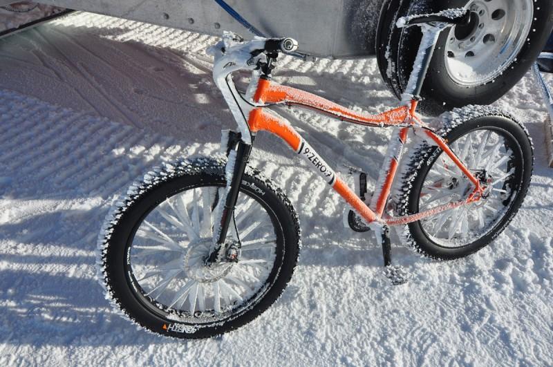 Antarctic Cycling