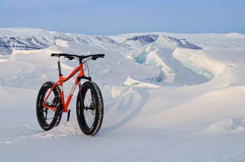 Antarctic Fat Bike Trip