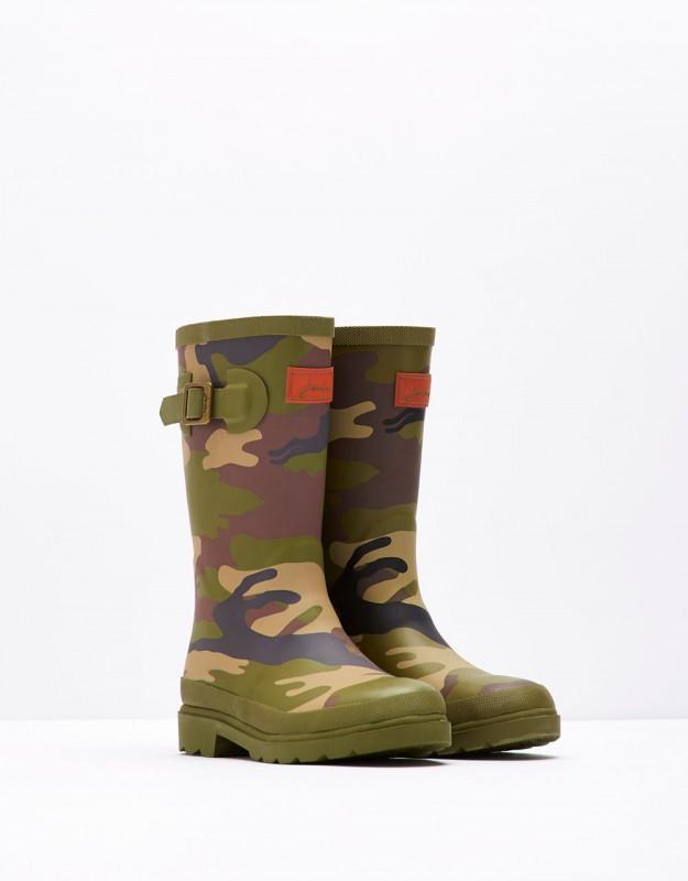 Joules Camo Rain Boots