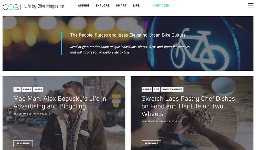 COBI Bike Magazine