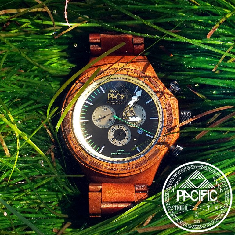 Koa Wood Watch