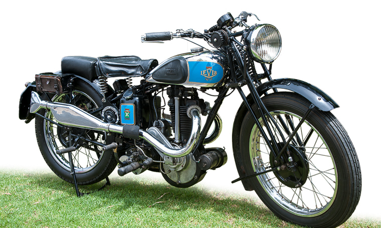 Classic Racing Motorbike