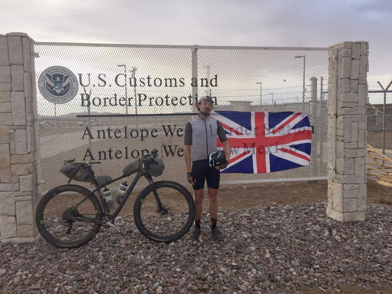 Mexico Border by bike
