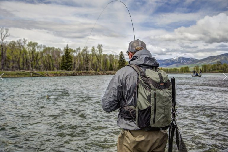 The rotation180 catch release backpack from mindshift for Backpacking fishing kit