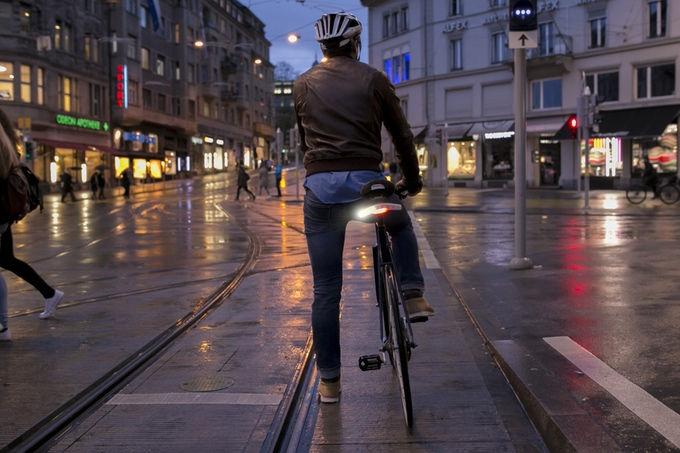 Blinker Bike Tail Light