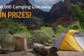The Dyrt.com Camping Giveaway