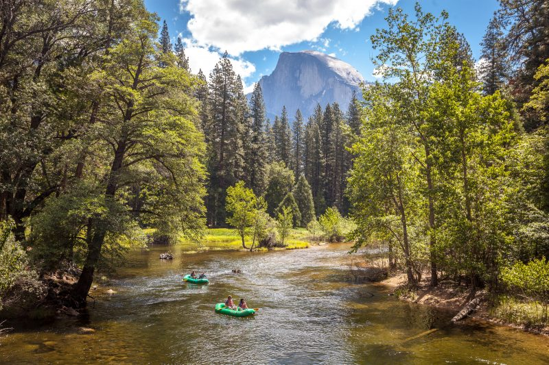 River Rafting in Yosemite