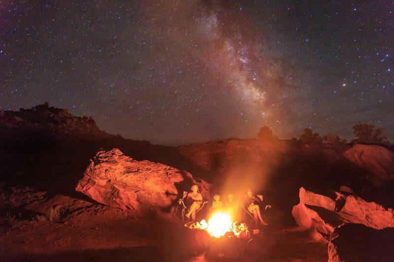 Cedar Mesa Campground Utah