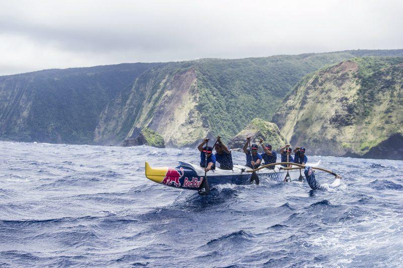 Outrigger Paddling Team Red Bull