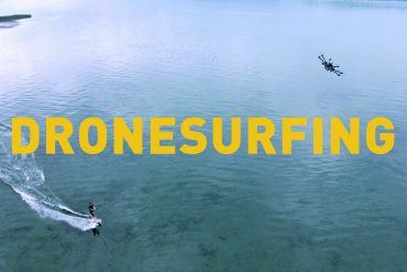 Drone Surfing is This Year's Newest Sport
