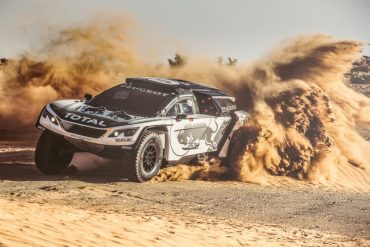 We Can't Take Our Eyes Off of the Peugot 3008 DKR