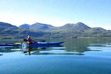 Wilderness Scotland Kayak tour
