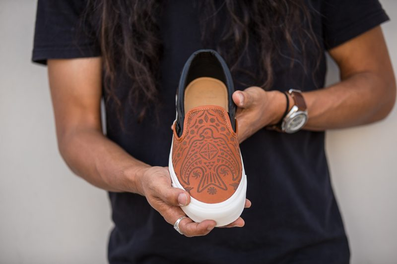 Vans and Brooks England collaboration