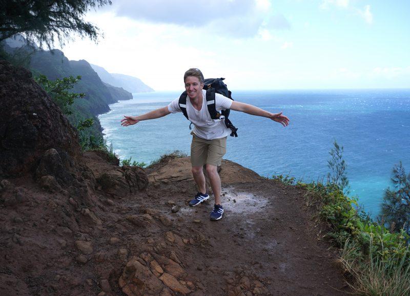 Napali Coast Trail ocean views