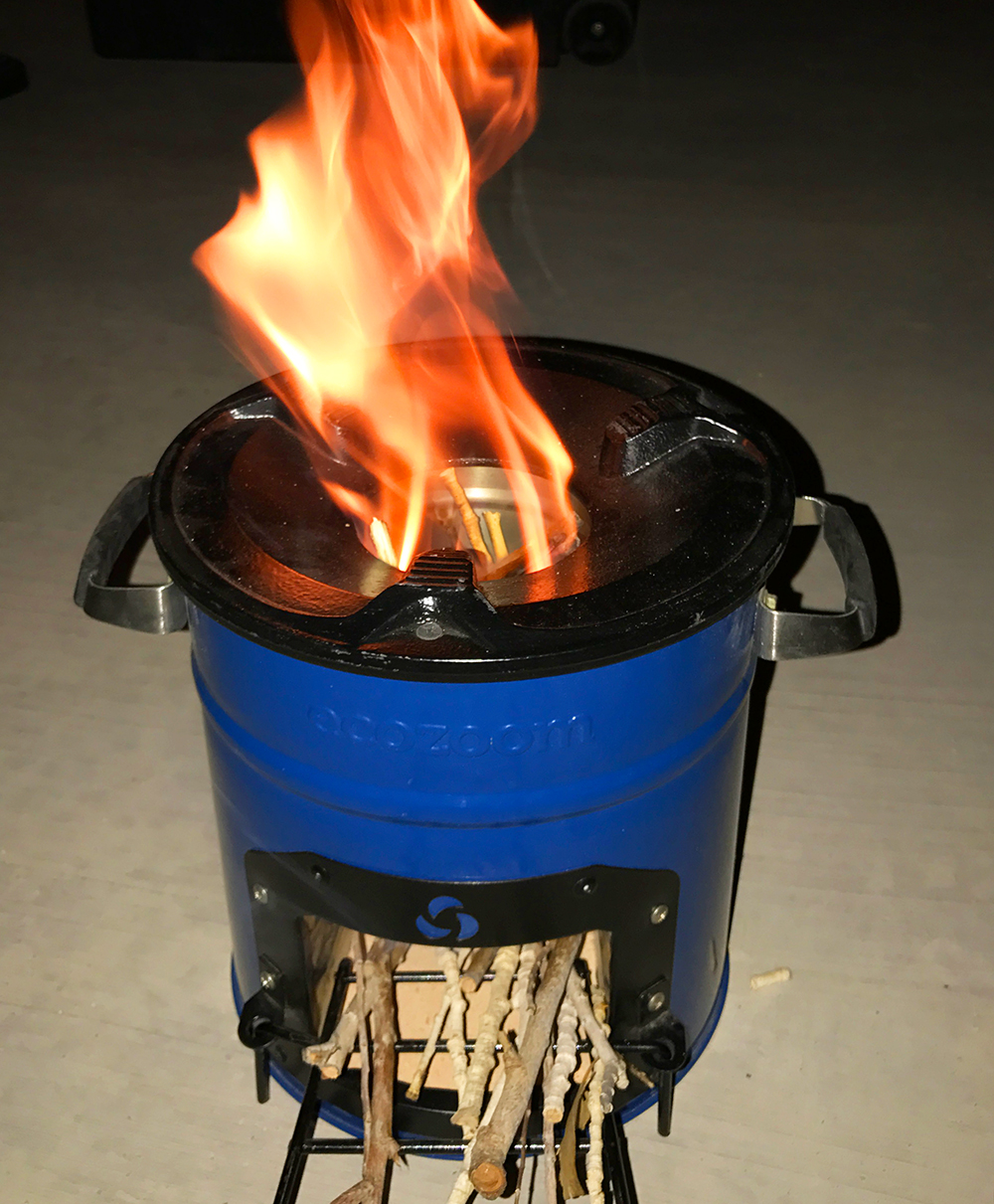Ecozoom Portable Outdoor Wood Stove Review Gearminded