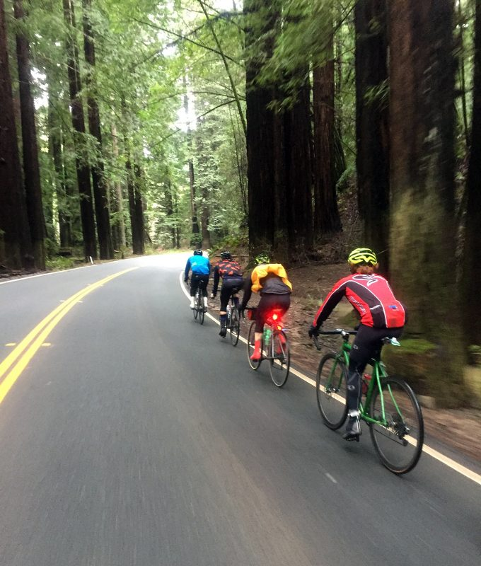 Cycling in Northern California