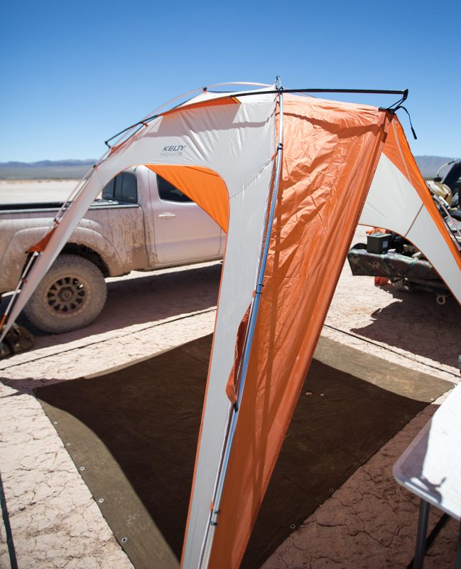 Kelty Shade Shelter Canopy in the desert