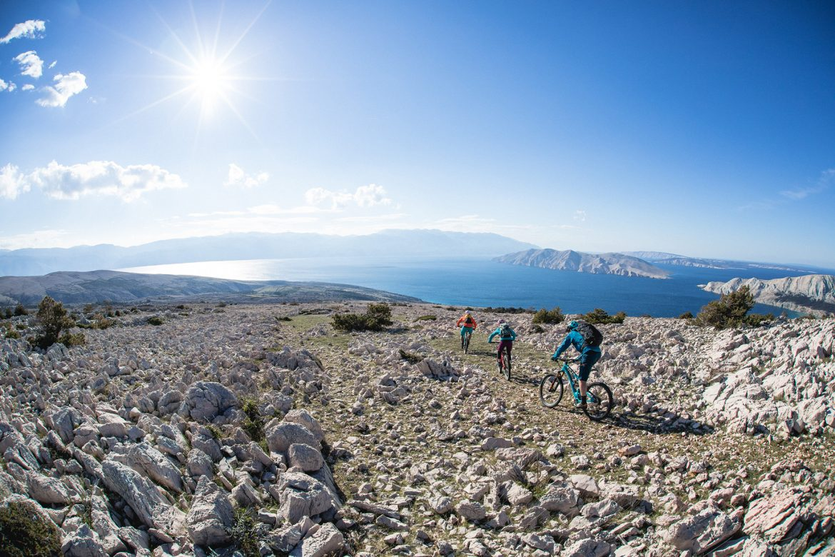 Mountain biking Croatia