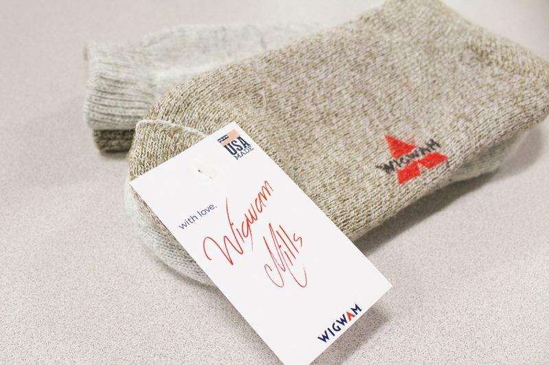 Wigwam socks recycled fiber
