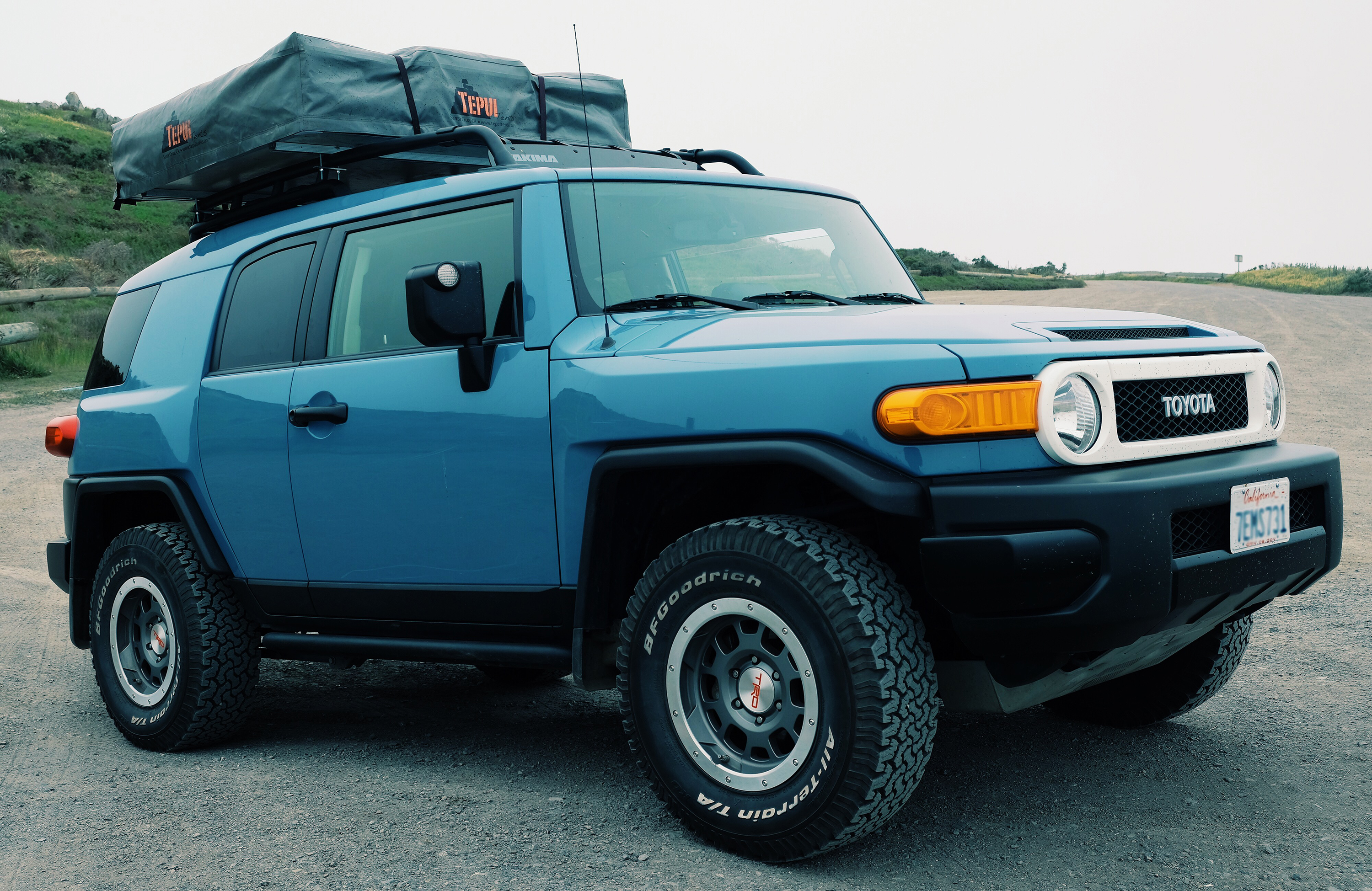 Tepui roof-top tent & Road Tripping Coastal California | Gearminded