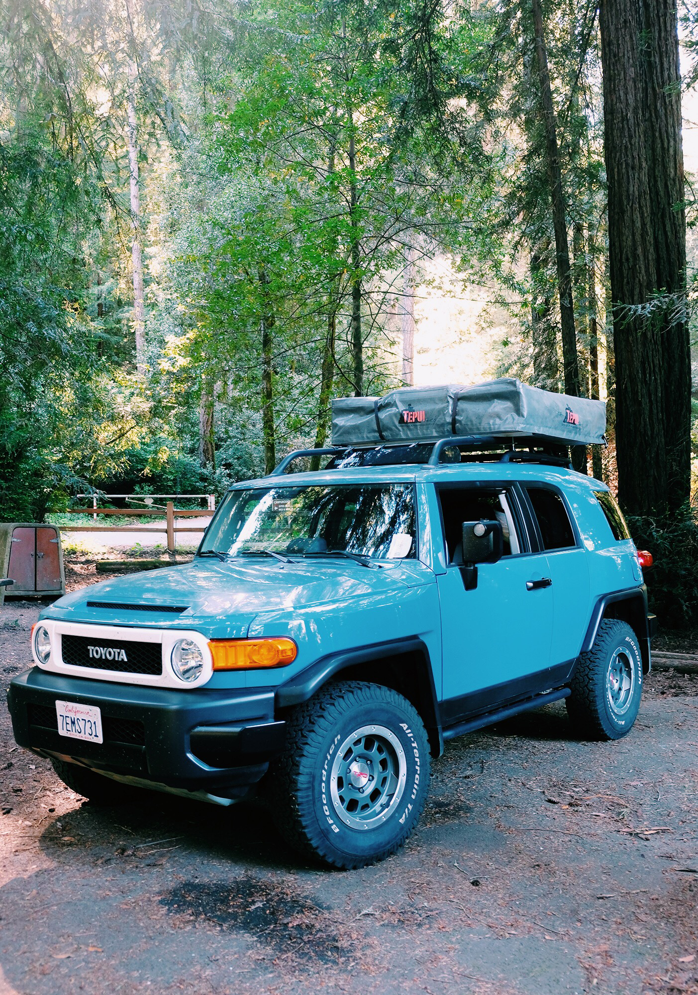 extreme tent · tepui roof top tent c&ing ... & Fj Cruiser Roof Tent - Flat Roof Pictures