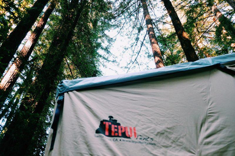 Tepui roof-top tent on Fj Cruiser