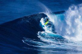 Finding a waves sweet spot.