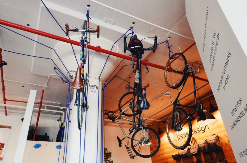 Ceiling bike rack Gearminded.com