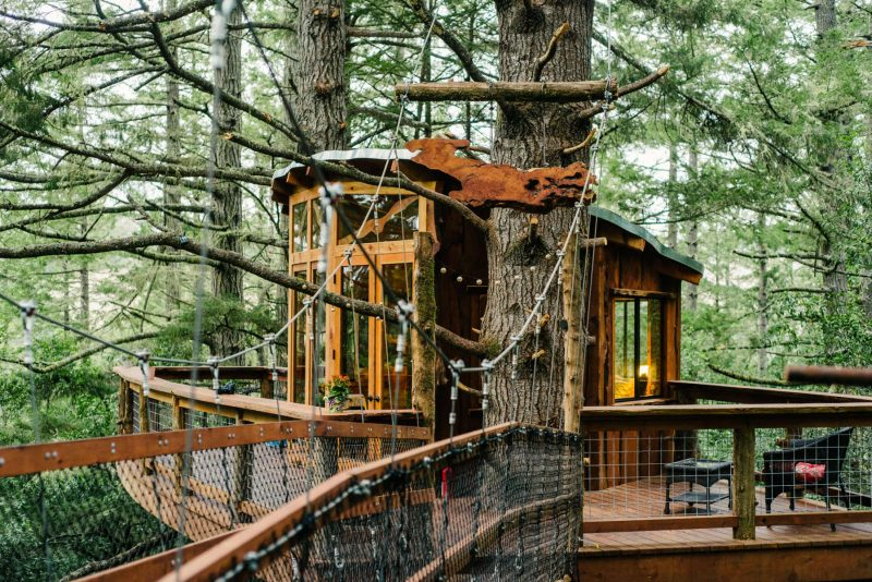 Treehouse near San Francisco Gearminded.com