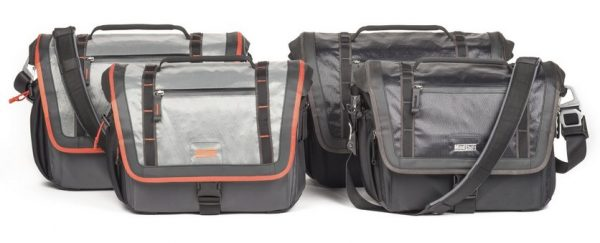 """There is no such thing as bad weather, only bad gear. MindShift Gear's new Exposure shoulder bags are storm-resistant carrying solutions for the active photographer in virtually any outdoor environment. Built with high performance waterproof sailcloth panels, strategically placed storm flaps, water-repellent DWR fabric, and a sturdy Tarpaulin bottom; the Exposure protects camera gear from the elements and withstands the rigors of adventure photography. And, with its cross-body stabilizer strap, the Exposure moves with you while you're active or is removable for more causal environments.  A waterproof rain cover is included when it's time to put the camera away and hunker down.  Exposure shoulder bags come in two models, the Exposure 13 and the Exposure 15, and in two colors, Black and Solar Flare.  The Exposure 13 fits a 13"""" laptop; the Exposure 15 fits 15"""" laptops.  A 10"""" tablet fits in zippered pocket.   """"We believe it is time for outdoor photographers to have the optimal level of weather protection and durability in a shoulder bag,"""" said Doug Murdoch, MindShift Gear's CEO and lead designer.  """"The X-Pac™ technology we employed is a four-layer laminated waterproof sailcloth material.  It is abrasion resistant and the C6DWR coating meets current environmental concerns and regulations.  Many of the large outdoor companies are using this level of DWR coating now."""" ADDITIONAL FEATURES AND BENEFITS  •YKK® AquaGuard® weather-resistant zippered front pocket sized for today's large phones  •Weather Wings on flap for additional weather protection  •Anodized aluminum hardware is lightweight and resists corrosion  •Tripod attachment straps included  •Comfortably padded neoprene shoulder strap with easy adjustment  •Luggage handle pass-through  •Customizable divider layout for stacking short lenses  •Internal pockets hold batteries, card wallets, and other accessories  •Ultra-Stretch mesh water-bottle pocket fits most 1 liter water bottles and secures with an elastic cord-lock"""