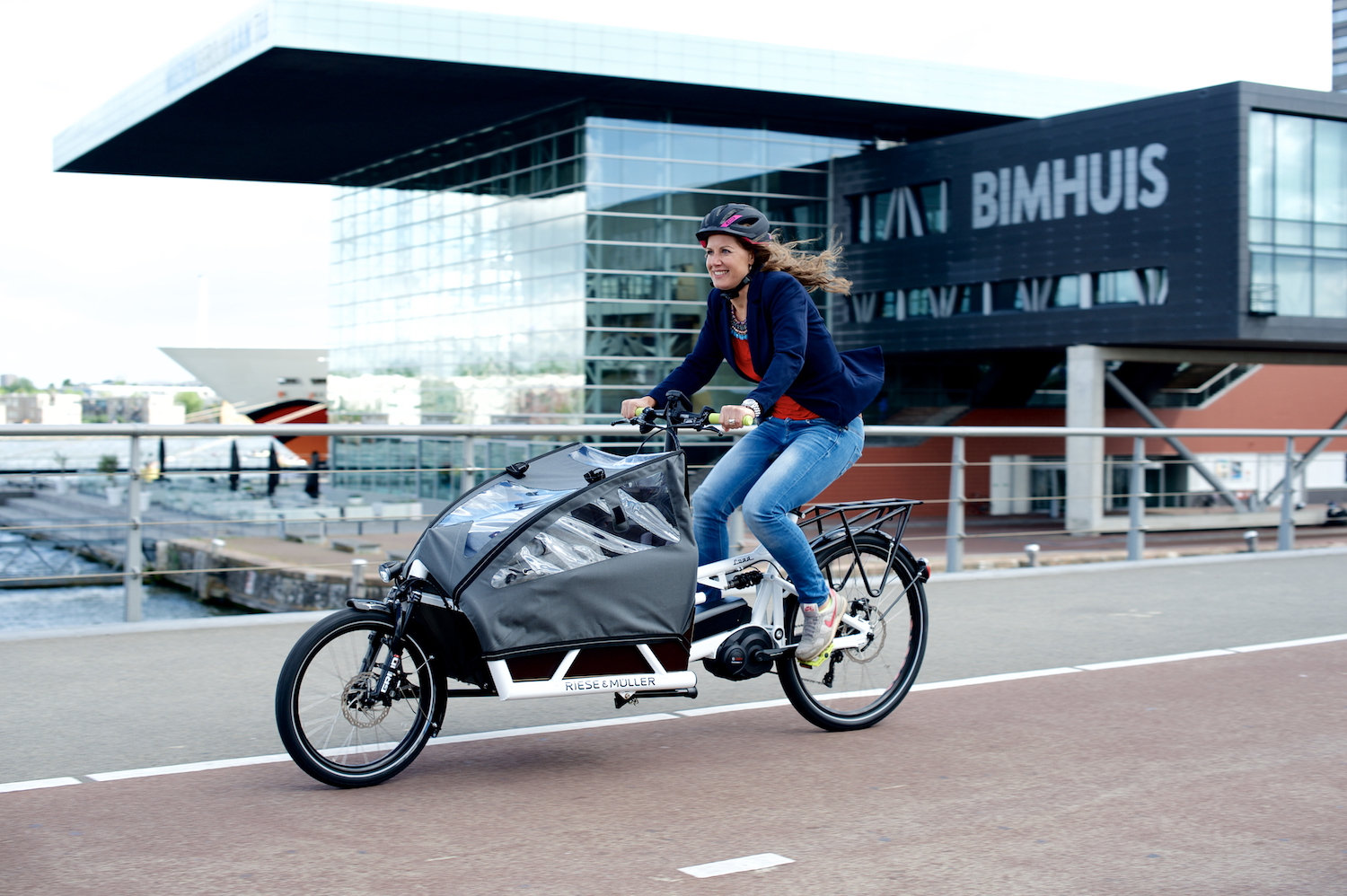 New E Cargo Bike From Riese Amp M 252 Ller Gearminded