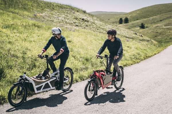 The Full-Suspension E-cargo Bike From Riese & Müller