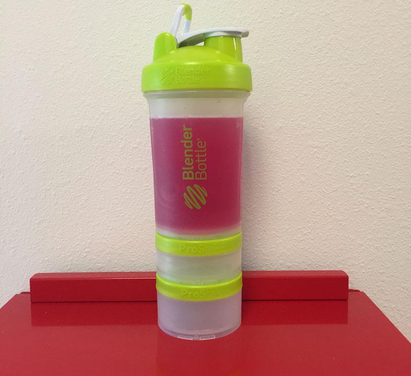Water Bottle Blender: BlenderBottle ProStak Review
