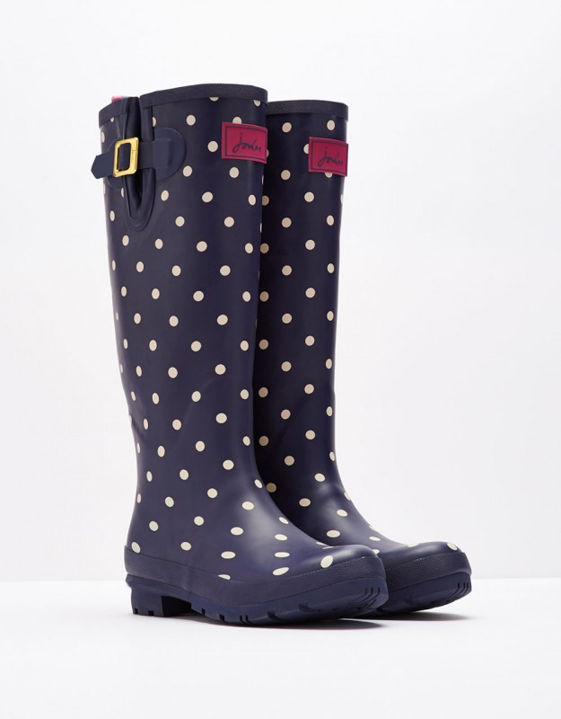 Joules Polka Dot Boots