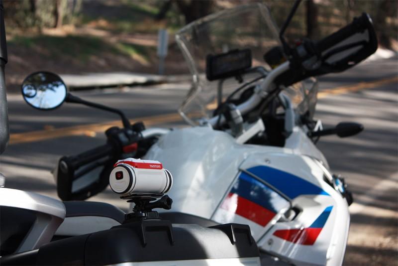TomTom GoPro mount
