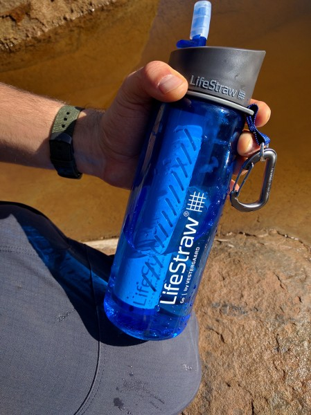 Lifestraw Go In The Sespe Wilderness Gearminded