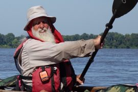 Dale Sanders Solo Paddle on Mississippi River
