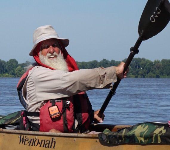 Dale Sanders Solo Paddle on Mississippi River