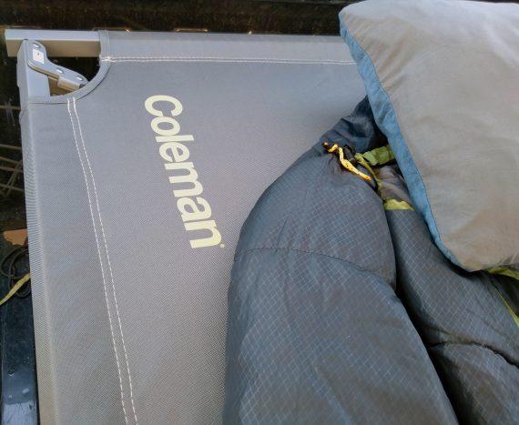 Coleman Big-n-tall cot