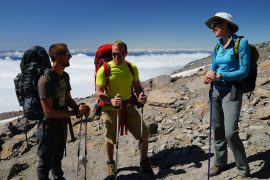 Mt. Rainier with Sally Jewell