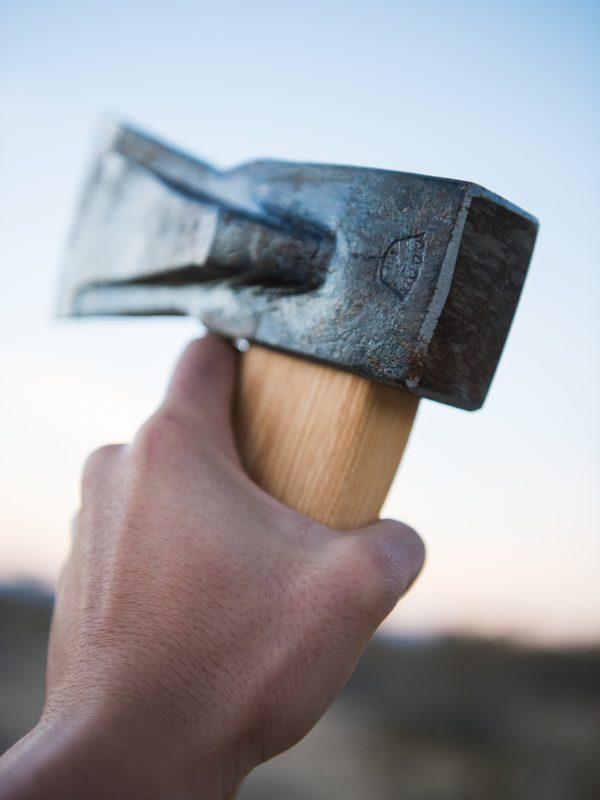 Victor Axe + Tool Delta Splitting Axe Head