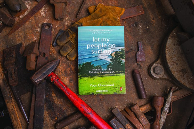 Patagonia book cover: Let My People Go Surfing