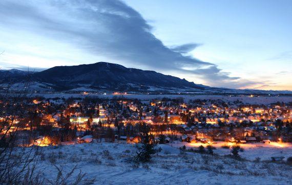Red Lodge Town, Montana