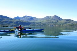 Wilderness Scotland Kayak tour