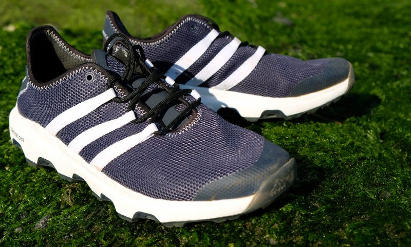 Hiking with the Adidas Terrex Voyager water shoes