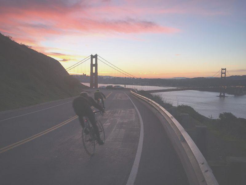 Riding Hawk Hill, San Francisco