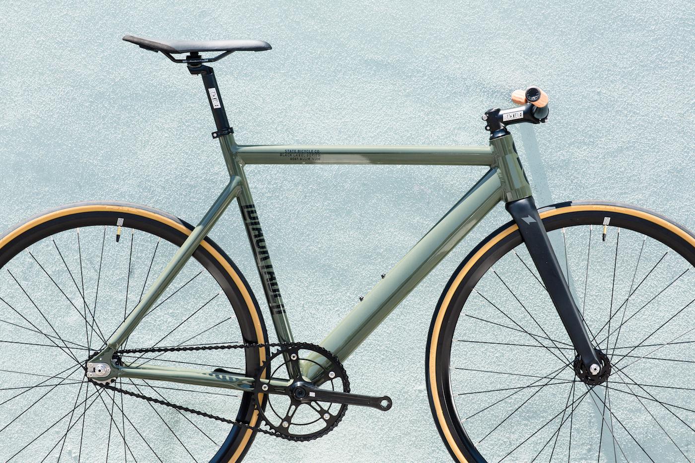 Black Label Series State Bicycle Co Wide Riser Bicycle Handlerbar
