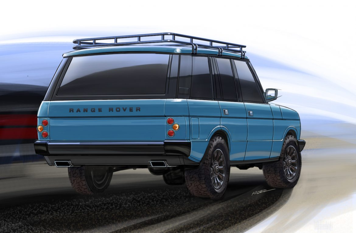 East Coast Defender To Build Range Rover Clics