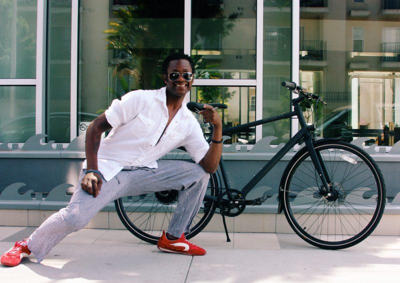 Priority Continuum Onyx urban bike in LA